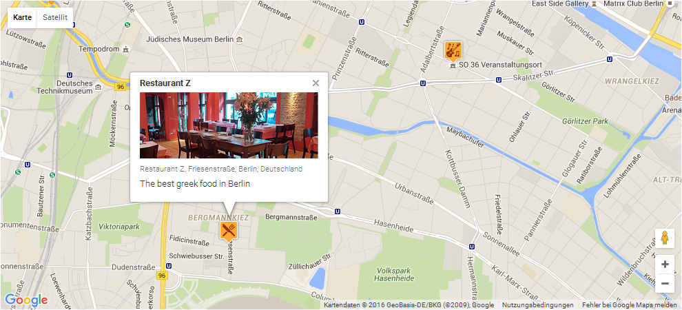 ACF Pro Google Map extended